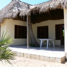 8 to 10 sleeper thatched self catering chalet in Mozambique