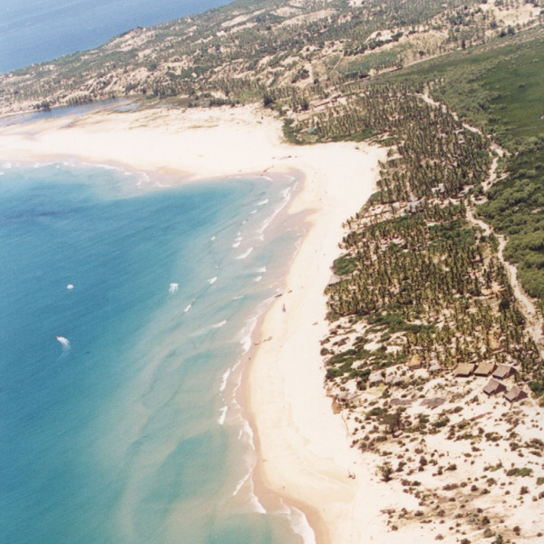 Aerial View of the Peninsula, Barra, Mozambique