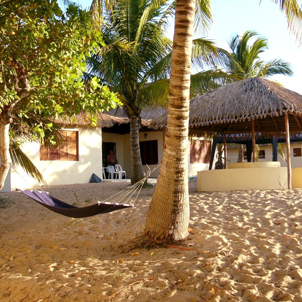 10 sleeper accommodation at Sunset Lodge Mozambique