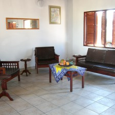 furnished, comfortable beach house in mozambique