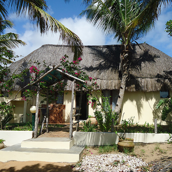 4 sleeper accommodation at Sunset Lodge Mozambique
