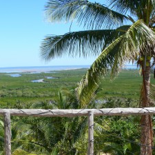 Beautiful view of Mozambique beach from Sunset Lodge